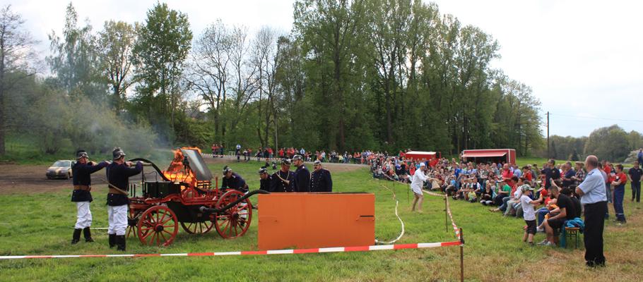 150 Jahre Feuerwehr Milkau