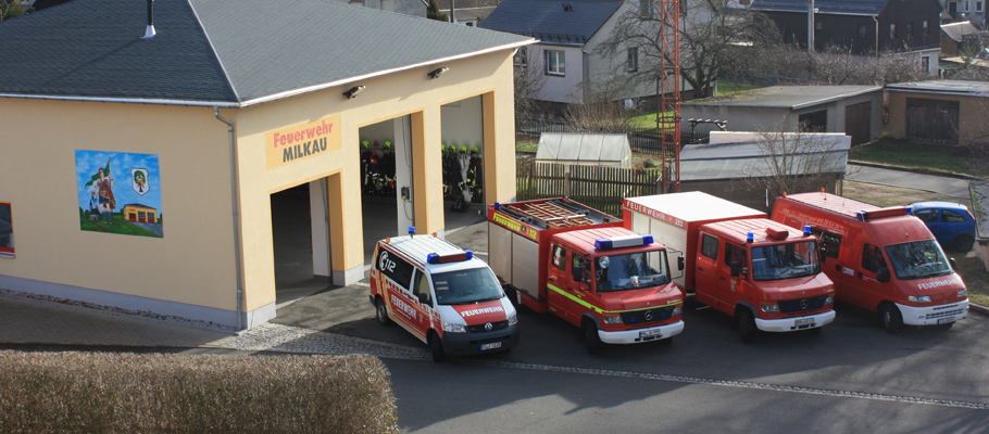 Das neue Fahrzeug der Feuerwehr Milkau - der ABC-Erkundungskraftwagen