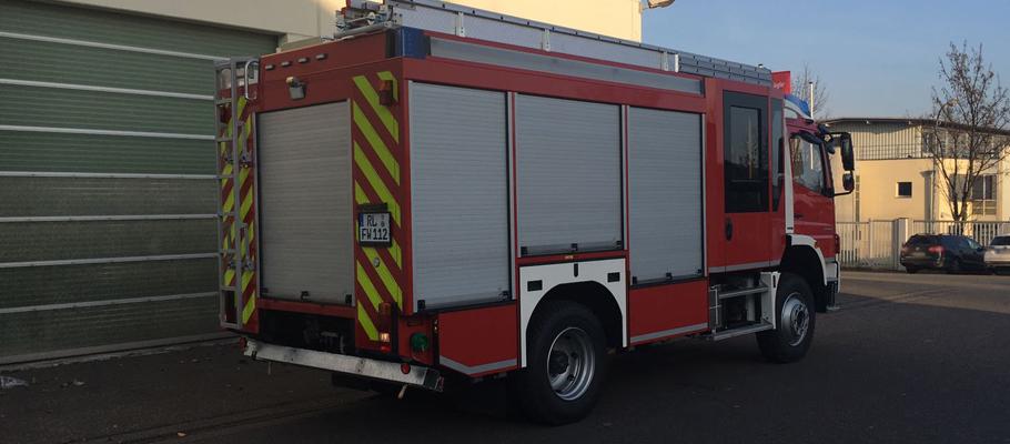 Feuerwehr Milkau erhält neues Löschgruppenfahrzeug LF10